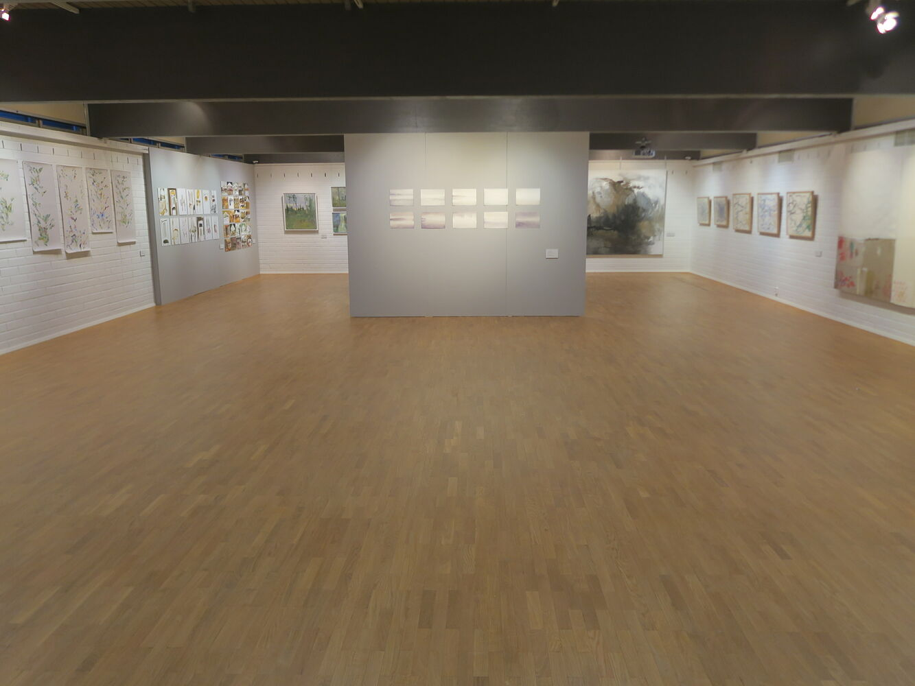 total view of the exhibition